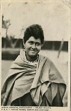 Portugal Mozambique Beira - Girl 1938 L. Marques published postcard