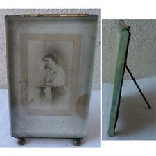 CADRE A PHOTO (16 cm/10) NAPOLEON 3 verre decor laiton