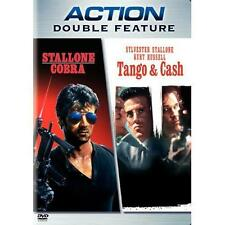 Cobra/Tango & Cash (DVD, 2006) SHIPS NEXT DAY SYLVESTER STALLONE / KURT RUSSELL