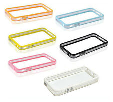 COVER RIGIDA CUSTODIA BUMPER PER IPHONE 5 + 2 PELLICOLA - TANTI COLORI - ITALIA