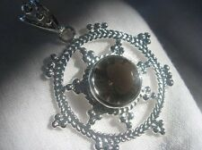 Smoky Quartz Striking Pendant Sterling Silver - BRAND NEW Collection!