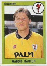 N°067 GABOR MARTON # HUNGARY AS.CANNES VIGNETTE PANINI FOOTBALL 94 STICKER 1994