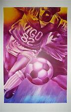 MONORY sérigraphie originale signée numérotée figuration narrative Football