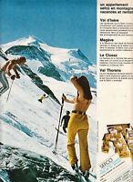 Publicité ancienne appartement Sefco 1970 issue de magazine