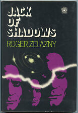 Fiction: JACK OF SHADOWS by Roger Zelazny. 1971. Signed 1st edition.