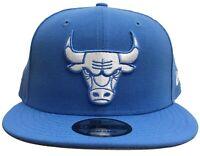 New Era NBA Chicago Bulls Custom Snapback Blue