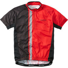Madison Tour Men's Short Sleeve Cycling Jersey Flame Red / Black