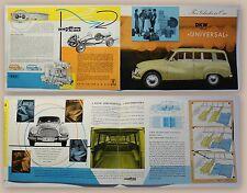 Original Werbeprospekt Auto Union DKW 3-6 Universal 1960 Automobile Audi xz