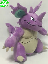 12'' Pokemon Nidoking Plush Doll Toy Game Anime Stuffed Collectibles PNPL8337