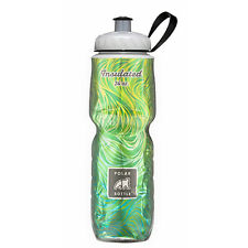 Polar Bottle 24oz Insulated Water Drink Bottle BPA FREE - LEMONGRASS 0007