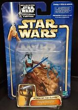 Star Wars Attack of the Clones AAYLA SECURA Jedi Knight New! Rare!