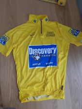 Tour de france yellow Discovery channel jersey TDF retro original vintage