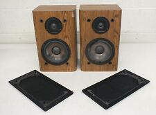 Vintage Infinity RS 2000 High-Quality 2-Way Bookshelf Speakers Fast Shipping