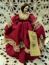"Vtg Bradley Dolls ~ FASCINATION ~ 7"" High ~ Musical Music Box Doll"