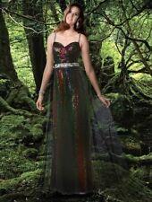 Xcite Disney Grad Prom Dress 35593 Peacock/Multi Size 12 NWT