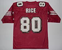 Jerry Rice San Francisco 49ers Starter NFL Vtg Jersey Shirt Sz 48