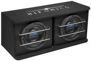 "Hifonics TD-200R Dual Bass Reflex Gehäuse-sub 8 "" (20 CM) Power 800 Watt"