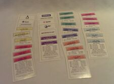 MONOPOLY 2000 THE.COM GAME 28 PROPERTY DEED CARDS 41443