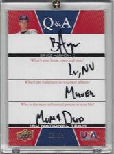 2009 UD USA BRYCE HARPER AUTOGRAPH ROOKIE CARD - MINT - 03/65!!!