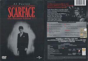Scarface con Al Pacino Platinum Edition Steelbook 2 Dvd!!!