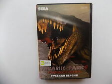 Jurassic Park Rampage Edition Sega Genesis Mega Drive.