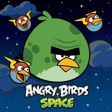 Angry Birds Space Lunch Napkins 16 Per Package Birthday Party Supplies NEW