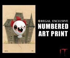 """Stephen King's IT """"Pennywise Balloon"""" LIMITED NUMBERED Regal POSTER Print 13x19"""