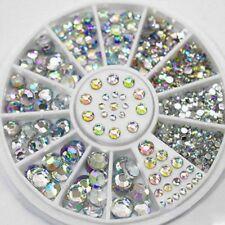 UK DIY Nail Art Gems Decoration Crystal For Nail Polish UV Gel Acrylic Manicure