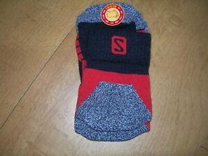 New Mens Salomon Sports/Hiking Merino Socks - M