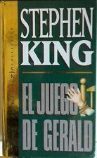 El Juego de Gerald. Stephen King. Libro