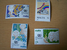 MALTA,SG NOS.755/758.4VALS,U/MINT.EXCELLENT.