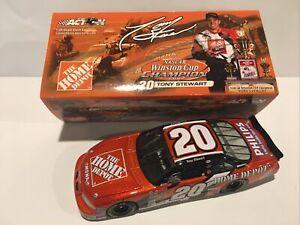 2002 Tony Stewart Home Depot Winston Cup Champion 1/24 Action - NIB