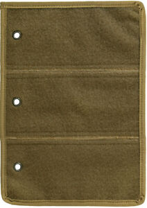 Tactical Patch Storage Page for Collection Holder Patch Case (Coyote Brown Tan)