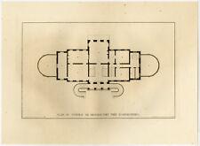 Rare Antique Print-TOPOGRAPHY-CASTLE BROEKHUIZEN-AMERONGEN-Anonymous-1827