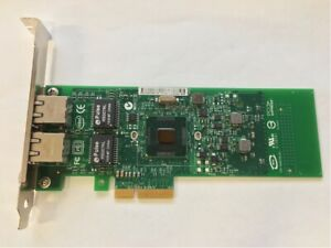 Intel Gigabit ET Dual Port PCIe 1Gbps 10/100Base Network Adapter E1G42ETBLK