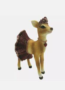 Deko Reh Bambi Deko Figur Christmas Weihnachten Shabby Chic Vintage Landhaus 9cm