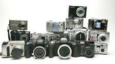 15 Different Digital Point & Shoot Digital Cameras: Olympus, Fujifilm & Nikon.