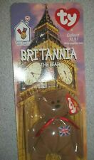 Ty Beanie Babies Britannia the Bear New Unopened Package