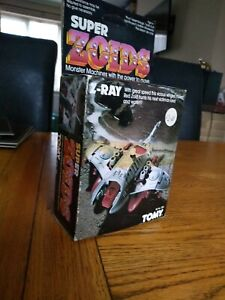 TOMY SUPER ZOIDS Z-RAY 2580 BOXED & COMPLETE W/ INSTRUCTIONS 1985