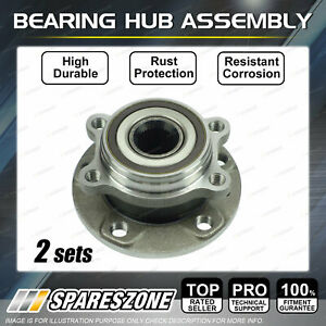 2 x Front Wheel Bearing Hub Assembly for Volkswagen Caddy 2K Eos 1F Golf MK5