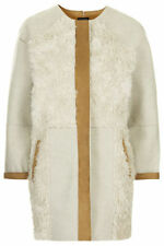 Topshop Zip Knee Length Faux Fur Coats & Jackets for Women