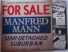 Manfred Mann Semi Detached Suburban UK LP + Inner