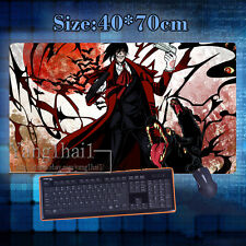 Anime Hellsing Cosplay Big Mouse Mat Oversize Black Gaming Mouse Pad 47*70cm