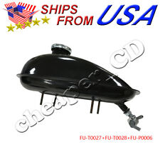 NEW Fuel Gas Tank With Petcock for 80cc 60cc 66cc 49cc Engine Motorized Bicycle
