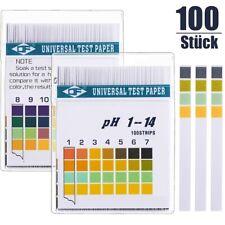 pH Wert Teststreifen Tester für Pool Wasser Teich Garten Haushalt pH messen 1-14