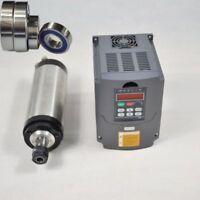 1.5KW ER16 Water-cooled 4 Bearing Spindle Motor+Matching VFD Inverter Drive CNC