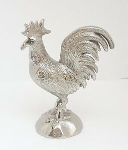 Aluminum Rooster with Nickle Plaiting