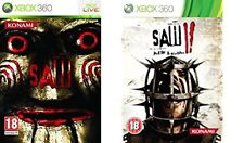 saw 1 and 2    xbox 360 pal format