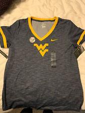 Womens West Virginia University Dri Fit Top M NWT