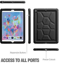 Poetic TurtleSkin Rugged Case With Heavy Duty For iPad 9.7 2017 Black